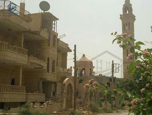 جولة لمراسل فرات بوست في مدينة ديرالزور